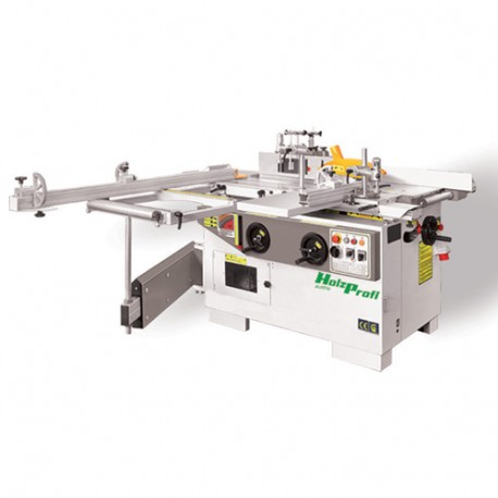 Combinée 5 opérations avec inciseur - 3 x 3000 W 400 V - COMB320E-TRI - Holzprofi