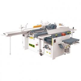 Combinée 6 opérations avec inciseur - 3 x 4000 W 400 V - COMB410PRO - Holzprofi