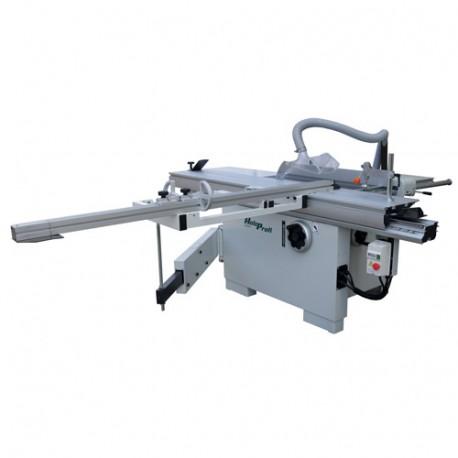 Scie à format D. 315 mm avec inciseur chariot 2200 mm - 3750 W 400 V -FPL2200VR-TRI - Holzprofi