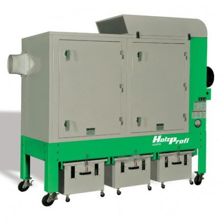 Groupe d'aspiration 5525 m3/h ATEX 540 L - 5500 W 400 V - GA750-SCA - Holzprofi
