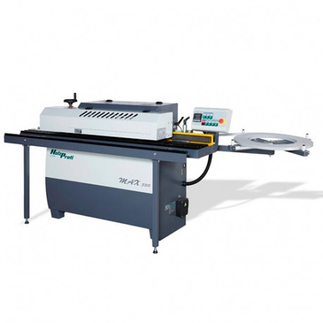 Plaqueuse de chant automatique Ht. 12 à 45 mm - 3200 W 400 V - PLC1 - Holzprofi