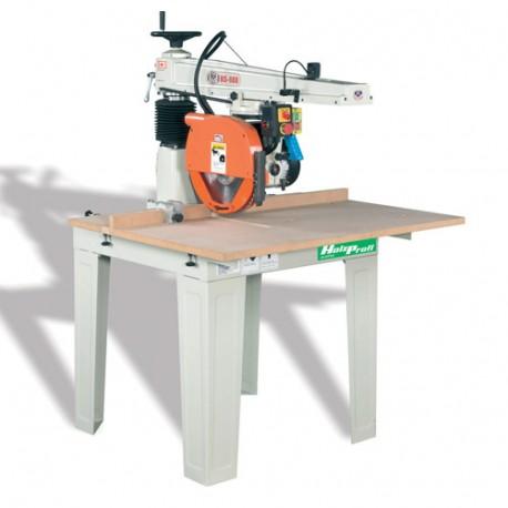Scie radiale D. 600 mm hauteur de coupe 200 mm - 5500 W 400 V - RAS200 - Holzprofi