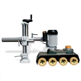 Entraîneur HP40L bras 1050 mm 4 rouleaux D. 120 mm - 750 W 400 V - VSHP40L - Holzprofi