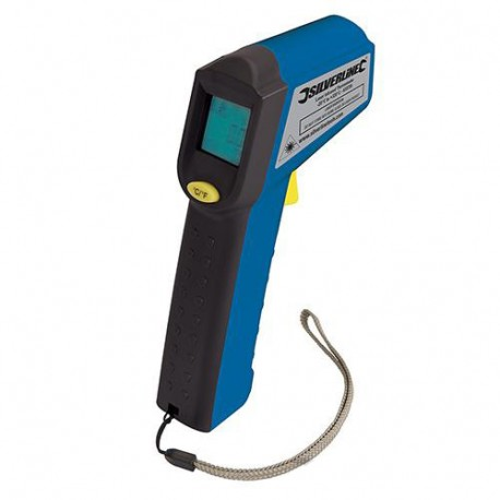 Thermomètre infrarouge laser - 38 °C à + 520 °C - 633726