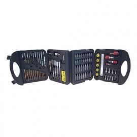 Mallette de 113 accessoires pour perceuse/visseuse - 633808