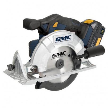 Scie circulaire sans fil D. 165 mm 18 V 4 Ah GMC18CS - 636575