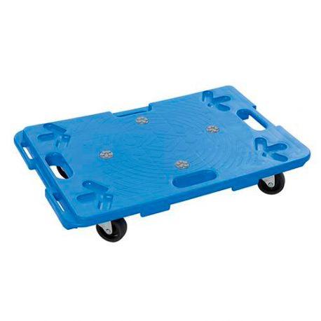 Chariot plateforme en plastique emboîtable 100 Kg - 407053