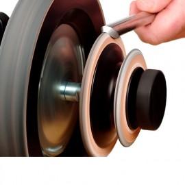 Disque de démorfilage profilé spécial gouges R.3 et 60° - Tormek - LA-120