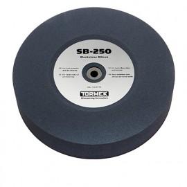 Meule à eau spécial aciers rapides Blackstone Silicon D. 250 mm Gr. 220 pour affûteuse à eau - Tormek - SB-250