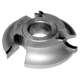 Fraise 1/4 rond rayon 8 mm dessous D. 140 x Al. 50 x Z 3 coupes HM - MFLS - FRAI0144