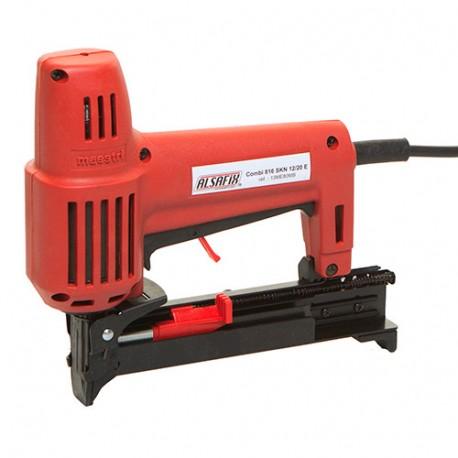 Agra-cloueur électrique 230 V 2300 W COMBI 816 SKN 12/20 E en Box-1 - 13ME80MBB - Alsafix