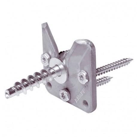 Connecteur invisible WALCO V60 - AL-137K102 - Alsafix