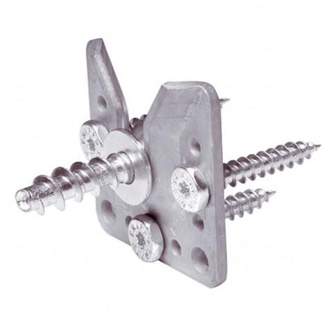 Connecteur invisible WALCO V80 - AL-137K103 - Alsafix