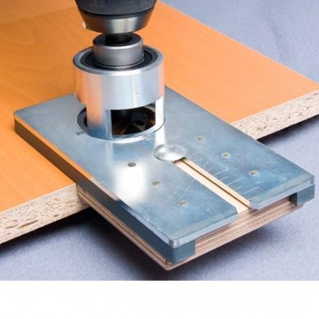 Kit de perçage avec mèche à façonner HM D. 30 mmpour fixation assembleur à crochet D. 30 mm - AL-137Z070 - Alsafix