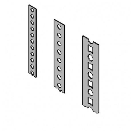 Feuillard de contreventement - bande perforée (L x l x ép) 10 m x 12 x 0,8 mm - AL-BP101208 - Alsafix