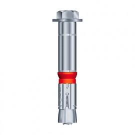 10 chevilles métalliques à expansion charges lourdes GC D. 24 x M16 x Lt. 150 mm - CGC24201 - Alsafix