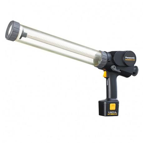 Pistolet d'injection 600 ml sans fil + 2 batteries 7,2V - 2,8 Ah NiMh/Li-ion + chargeur - EY3654NQ - Alsafix