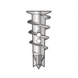 100 chevilles Zip-It Métallique L. 25 mm avec vis - PO02378 - Alsafix