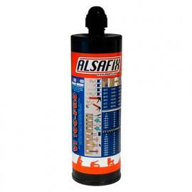 Cartouche de scellement chimique Vinylester grise VI100-PRO 400 ml - VI100400 - Alsafix