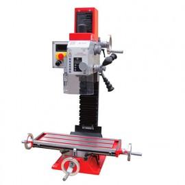 Fraiseuse verticale métal inclinable affichage digital D. 20 mm 230 V 700W - BF 20V HOLZMANN