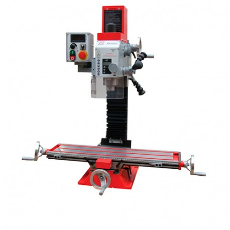Fraiseuse verticale métal inclinable affichage digital D. 25 mm 230 V 700W - BF 25VLN HOLZMANN