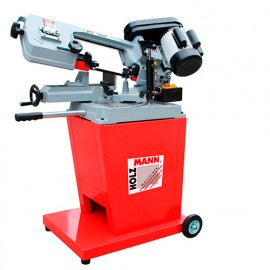 Scie à ruban métal descente semi-automatique D. 125 mm 230 V 550 W - BS 128HDR-230V HOLZMANN