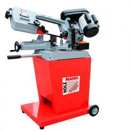 Scie à ruban métal descente semi-automatique D. 125 mm 400 V 550 W - BS 128HDR-400V HOLZMANN