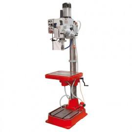 Perceuse fraiseuse métal à colonne 2 vitesses D. 40 mm et système de refroidissement 400 V 1100 W - ZS 50APS HOLZMANN