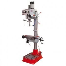 Perceuse fraiseuse métal à colonne avec table croisée D. 40 mm et refroidissement 400 V 1100 W - ZX 40PC HOLZMANN