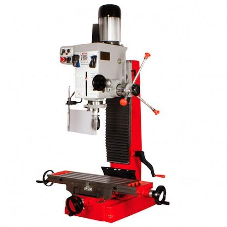 Fraiseuse verticale métal avec tête orientable à 360° D. 45 mm 400 V 1100 W - ZX 7045 HOLZMANN