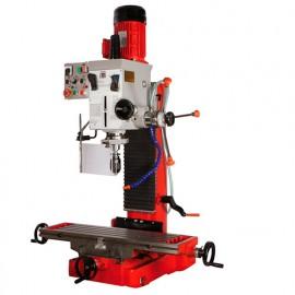 Fraiseuse verticale métal avec tête orientable à 360° D. 45 mm et système de refroidissement 400 V 1100 W - ZX 7050 HOLZMANN