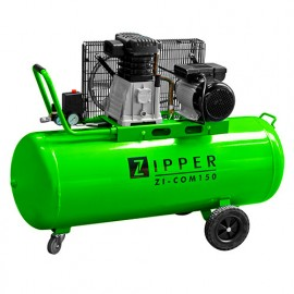 Compresseur 150 litres électrique 2200 W ZI-COM150 ZIPPER
