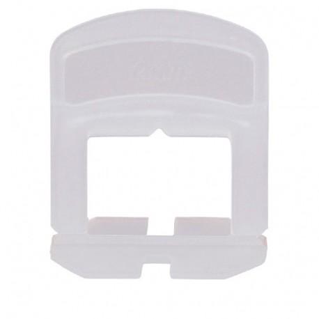 Blister de 100 croisillons 2 mm auto-nivelants de 0 à 12 mm - 11200043 Sidamo
