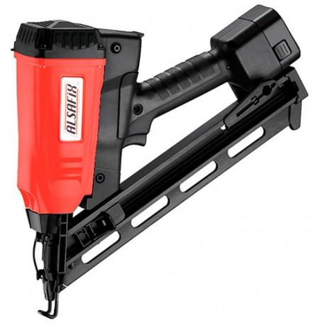 Cloueur pour bois à gaz sans fil 6 V NiMh 20/64 G1 - 12A2064N5 Alsafix