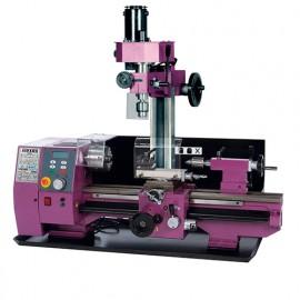 Tour à métaux TP 510 L. 510 mm + unité de fraisage 10 FV - 230V 1000W - 21300022