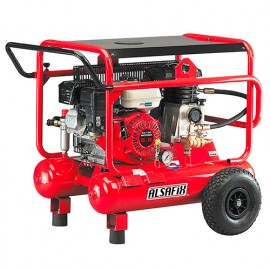 Compresseur 20 Litres thermique 5,5 CV ALAIR 20/500-5,5 HONDA - AL57020 - Alsafix