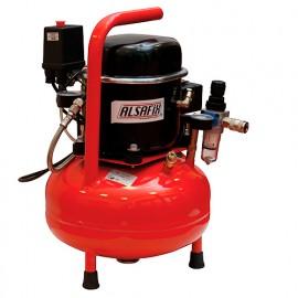 Compresseur silencieux 10 Litres 230 V 0,5 CV SILENT 9/45 - AL57120 - Alsafix