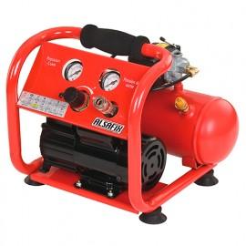 Compresseur 4 Litres 230 V 0,33 CV ALAIR 4/40 OILESS - AL57151 - Alsafix