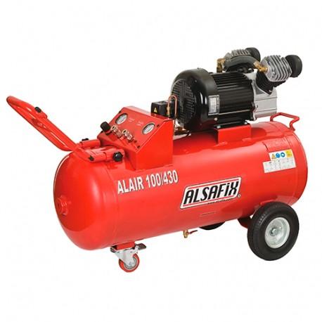 Compresseur 100 Litres 230 V 4 CV ALAIR 100/430 - AL57210 - Alsafix
