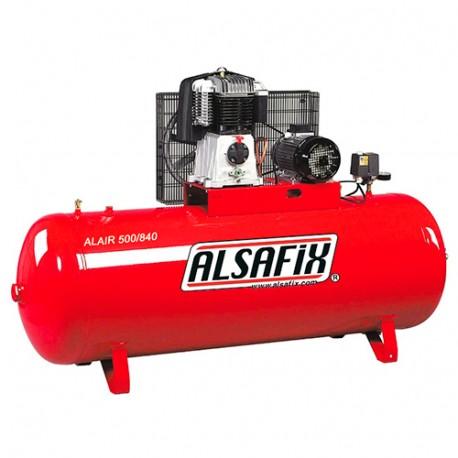 Compresseur 500 Litres 400 V 7,5 CV ALAIR 500/840 - AL57231 - Alsafix