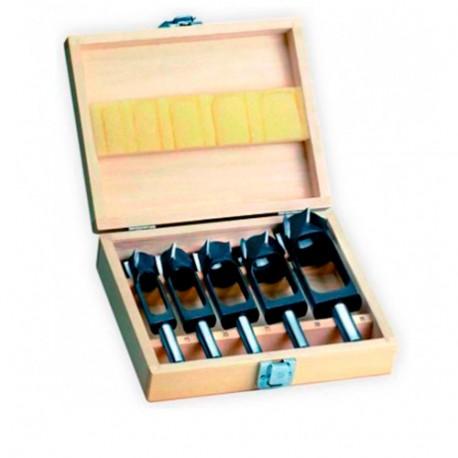 Coffret de 5 mèches à bouchonner WS D. 15 à 35 mm - 5031000 - Holzprofi