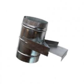 Trappe à guillotine d'aspiration D. 100 mm - AB-UTG100 - Holzprofi