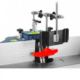 Carter de toupie pour outils D. 180 mm avec 2 joues et presseur - CARTER-180 - Holzprofi