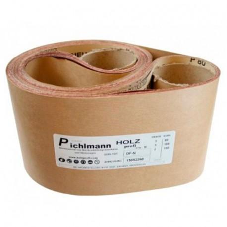 Bande abrasive 7000 x 150 mm Gr. 80 pour ponceuse BS250B - DF7000-080 - Holzprofi