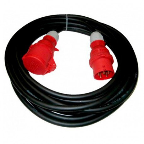 Rallonge électrique triphasée de 5 mètres en 16 A - EL0305 - Holzprofi