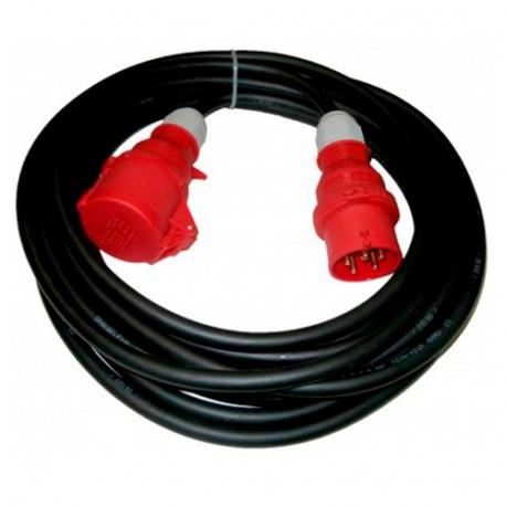 Rallonge électrique triphasée 10 mètres en 16 A - EL0310 - Holzprofi