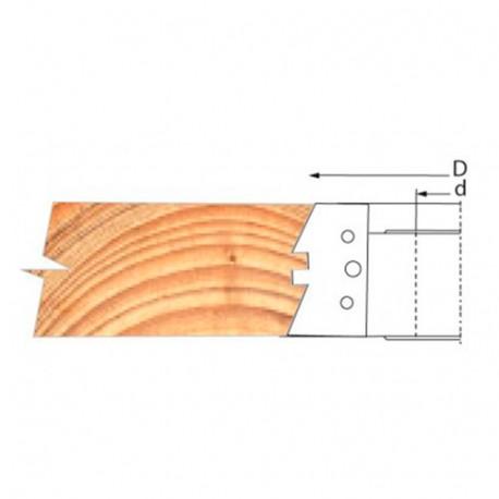 Jeu de 2 plaquettes de rechange pour PO bouvetage auto-serrant - PBAS03 - Holzprofi