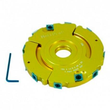 Porte outils à feuillurer et à tenonner D. 150 x ép. 14-28 x Al. 30 mm - PFT01 - Holzprofi