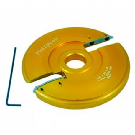 Porte outils plate bande D. 180 x ép. 20 x Al. 30 mm Inférieur - PPB04 - Holzprofi