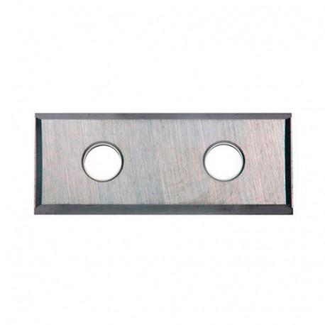 10 plaquettes de rechange 2 coupes 50 x 12 x 1,5 mm - PS02 - Holzprofi